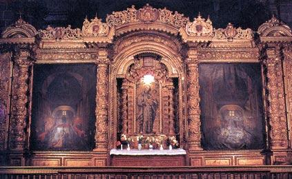Catedral Del Cusco Interior en la Catedral Del Cusco