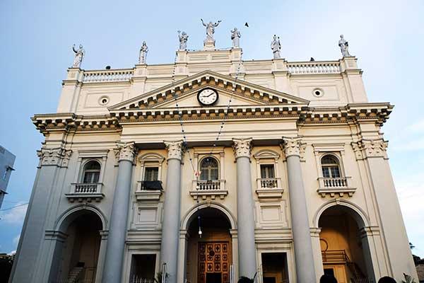 Catedral de Santa Lucía en Colombo, Sri Lanka