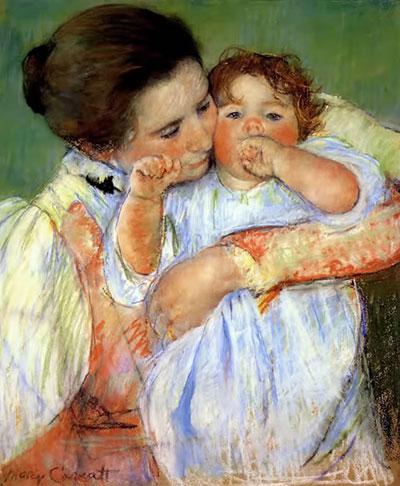 Madre e hijo, Mary Cassatt, 1896 – Museo D'Orsay, París